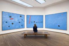 Feeling blue? Triptych Joan Miro at the Tate Modern