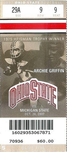10.20.07 Michigan State at Ohio State