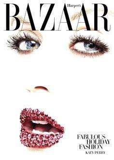 Holiday Glitter lip Bold Choice  harper's bazaar