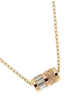 Michael Kors Jewelry Barrel Pendant Necklace