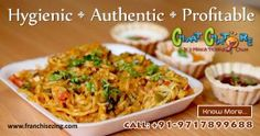 #Chaatchatore is one of the leading and most #affordable #food #business #brand. For #franchise details reach us at 97178-99688 or mail us at info@franchisezing.com