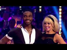Louise Redknapp & Kevin Clifton Foxtrot to 'Tears Dry On Their Own' - Strictly Come Dancing 2016 - YouTube