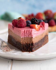 Kitchen Stories, Fika, Vegan Desserts, Mousse, Tart, Cheesecake, Sweet Sweet, Beverage, Instagram