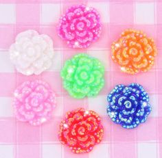 These cabochons would be perfect for all kinds of crafts including, decoden, card making, jewellery (jewelry making), phone or tablet/ laptop decoration, shoes, sunglasses, clothing embellishment. #Clothing #Craft #DIY