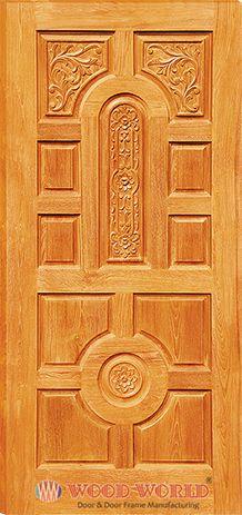 Wood World Catalog ::Wooden Door and Door Frame Manufacturing Company. Bedroom Door Design, Door Gate Design, Door Design Interior, Interior Doors, Wooden Front Door Design, Double Door Design, Wooden Front Doors, Joinery, Furniture