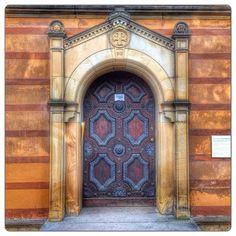 Door, in Weimar, Thuringia, Germany