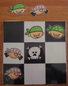 Plastificando ilusiones: Un tres en raya muy pirata Preschool Pirate Theme, Pirate Activities, Kindergarten Activities, Art For Kids, Crafts For Kids, Princess Crafts, Pirate Crafts, Holiday Club, Diy Art Projects