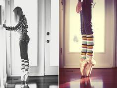Ballet slippers. #dance