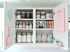 My baking cupboard by toriejayne, via Flickr