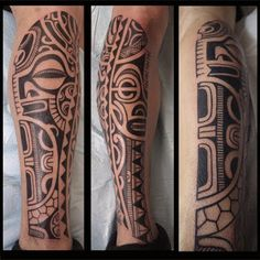 tatouage polynesien-polynesian tattoo