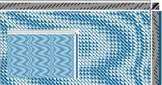 Network Drafted Ripples & Waves | EVA STOSSEL'S WEAVING BLOG #weaving #networked #draft