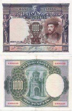 Billetes antiguos de España- 1.000 pesetas de 1925