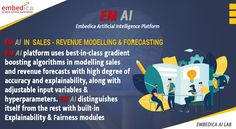 Are you a company or an organization? Looking to boost your sales? Our EM AI Platform will do it for you. EM AI Platform automates sales forecasts based on the customer's sales outcomes. Integrate EM AI Platform now & increase revenue! Revenue Model, Data Science, Artificial Intelligence, Machine Learning, Ems, Istanbul, Platform