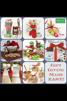 Pampered Chef gift giving made easy For more recipes or product information, visit www.pamperedchef.biz/arbour Nichole Arbour, Independent Director