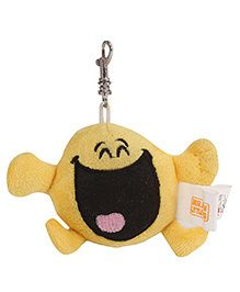 Simba Mr Happy Clip On Soft Toy Yellow - 3 Inches