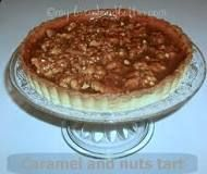 Bread and Butter.: Caramel and nuts tart! Types Of Cakes, Bread N Butter, Sugar Paste, Biscotti, Tiramisu, Cake Decorating, Sweet Treats, Ethnic Recipes, Desserts