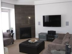 Living room after Flat Screen, Style Inspiration, Living Room, House Styles, Home, Blood Plasma, Sitting Rooms, Flatscreen, Living Rooms