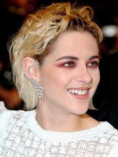 All the Best Bling from the 2016 Cannes Film Festival | People - Kristen Stewart in a Messika ear cuff