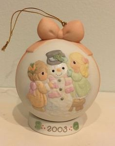 PRECIOUS-MOMENTS-034-Ic-y-Potential-In-You-034-2003-Ornament-Ball-112875-MINT-IN-BOX