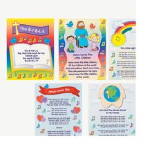 Bible Song Learning Posters, could make my own with more songs Sunday School Classroom, Sunday School Teacher, Pre School, School Days, Bible Songs, Niv Bible, Bible Topics, Vbs Themes, Tools For Teaching