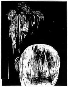 Torment by Leonard Baskin - Monumental Woodcuts | R.Michelson Galleries