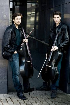 2 Cellos- I am in love with the cello, the single most gorgeous most instrument, a sound unmatched by ANY instrument.  Stupidly when we were given one chance to choose the 2 cellos spots were taken up and I chose a viola- went on to bass, upright and electric in a band and guitar, but I always regret so so much I never learned the cello.
