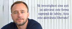 Libertatea este eliberarea din cautarea libertatii! Rune Heivang