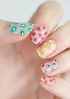 nail art diy * nail art designs ` nail art ` nail art designs for spring ` nail art videos ` nail art designs easy ` nail art designs summer ` nail art diy ` nail art tutorial Pretty Nail Art, Cute Nail Art, Nail Art Diy, Beautiful Nail Art, Diy Nails, Cute Nails, Spring Nail Colors, Spring Nails, Summer Colors