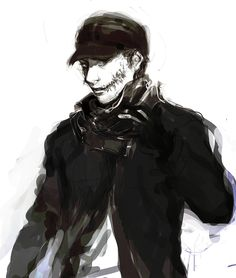 Watch Dogs 1, Cry Of Fear, The Evil Within, Game & Watch, Daddy Issues, Jojo Bizzare Adventure, Black Goku, Videogames, Badass