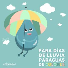 Los días de #lluvia también molan #frasedeldia