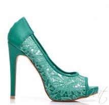 Damske zelene lodicky SOUL #pumps #shoes