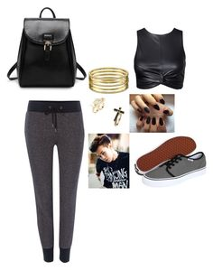 """Untitled #164"" by karla-mouque on Polyvore featuring True Religion, Vans, Soo Ihn Kim, GUESS and Vince Camuto"
