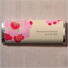 Japanese Blossom Nut Free Gourmet Milk Chocolate Bar specialtyribbon.com