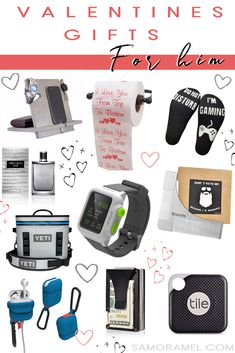 With Valentines around the corner, I wanted to share some thought out gifts ideas for him & her. #vdaygifts #vday #valentinesday #gifts #giftsguide #amazongifts