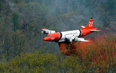 P-3 Orion Fire Bomber.