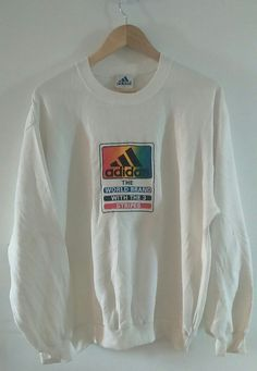 Rare Vintage adidas Sweatshirt Size L Made in Japan