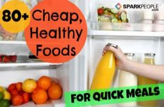 You can lose weight and get healthy as a family while sticking to a budget. Becky's list of cheap and healthy grocery staples proves just that. Don't miss this blog!