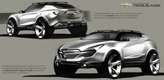 Chevrolet Compact SUV concept on Behance
