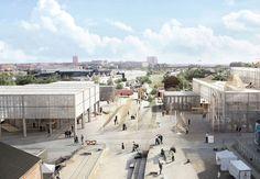 Tre unge arkitekter har vundet projektkonkurrencen om at bygge en ny arkitektskole i Aarhus by. Med rå, enkle og transparente elementer skaber de nyuddannede arkitekter plads til eksperimenter og kreativ ideudvikling.