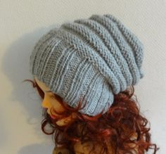 knit hat slouchy women / men  beanies style hat  Slouch by Ifonka, $28.00