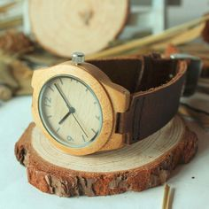 Fellas, it's 2015. If you haven't already gotten your eco-classy closet in check it's time to get on it! There's no better piece to start with than a watch from our glorious collection of wooden time