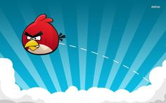 HD Wallpaper Red Angry Bird Game Wallpaper, Desktop Wallpaper Red Angry Bird Game Wallpaper