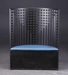 Willow chair. Charles Rennie Mackintosh.