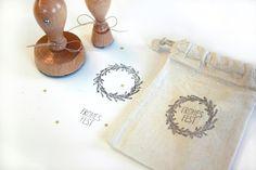 Stempelsets - StempelSets, Weihnachten, Neujahr - ein Designerstück von gestaltsam bei DaWanda