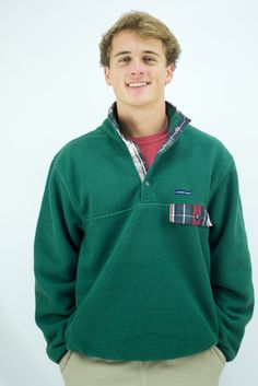 The All Prep Pullover in Green 0f9add7d43a3
