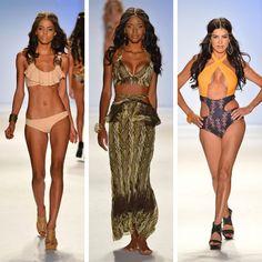 Keva J- Boho summer suits!  One on left!
