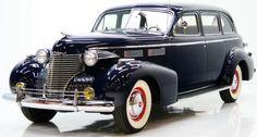 1940 Cadallic Series 72 sedan...with extras....