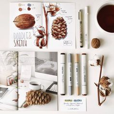 WEBSTA @ anna.rastorgueva - В этом месяце я стала автором коробочки для @doodle_and_sketch. В неё вошли: несколько маркеров, блокнот с двухсторонней маркерной бумагой, вдохновляющая натура, журнал с моими работами и интервью, мастер-класс и приятные мелочи. Приятного вам творчества! Выкладывайте рисунки под тегом #doosker #copic #copicmarkers #sketch #sketchbook