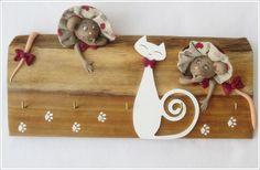 Le chat et ses 2 souris | souris | Galerie