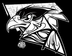 Carcará Hoodie  2016 Graphic Design Illustration, Illustration Art, Dope Art, Logo Concept, Street Art Graffiti, Urban Art, Sketches, Hoodie, Drawings